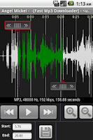 Screenshot of Mp3 To RingTone
