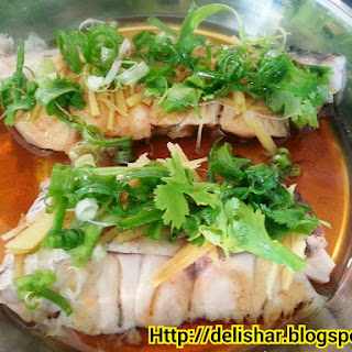 Cantonese Style Steamed Fish