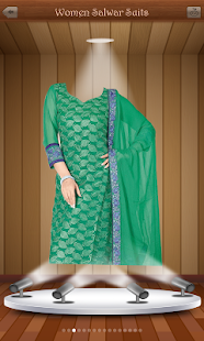 Woman Salwar Suit Photo Maker - screenshot