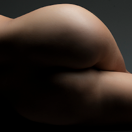 Derriere by Jordan Morgans - Nudes & Boudoir Artistic Nude ( nude, naked, bottom, buttox, sensual )