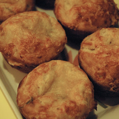 Savory Chive and Gruyere Popovers