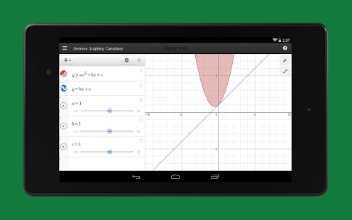 Desmos Graphing Calculator Screenshot
