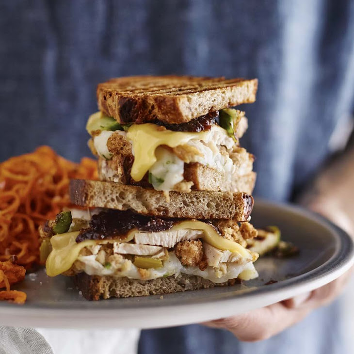 Thanksgiving Leftovers Panini Recipe | Yummly
