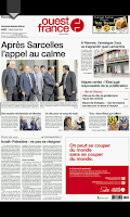 Screenshot of Ouest-France - Le journal