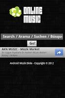 Screenshot of Müzik Dinle