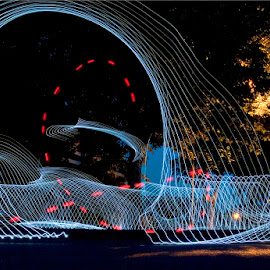Aspeire by Eddy Maerten - Abstract Light Painting
