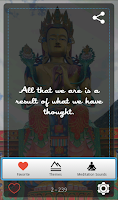 Screenshot of The Buddha Quotes V 2.0