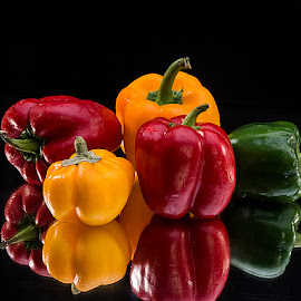 Bell Peppers by Rakesh Syal - Food & Drink Fruits & Vegetables (  )