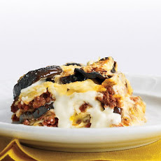 Rich Beef and Eggplant Lasagna
