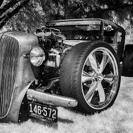 Rat Rod by Tom Reiman - Transportation Automobiles ( rat rod, infrared )