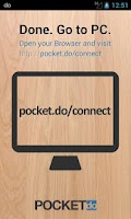 Screenshot of pocket.do - SMS ↔ Browser