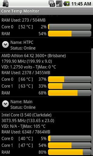 Core Temp Monitor