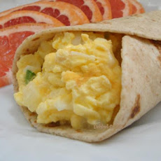 Light Breakfast Burrito