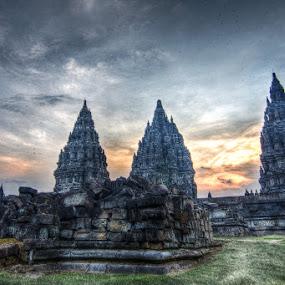 Prambanan Temple by Kresnata Adijaya - Buildings & Architecture Public & Historical ( temple, yogyakarta, prambanan )