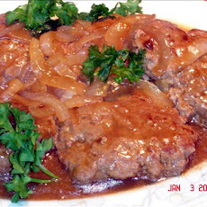 Smothered Hamburger Steaks & Onions