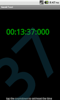 Screenshot of Geek Tool Light
