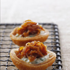 Caramelized-Onion Tartlets