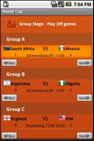 玩運動App|サッカーワールドカップ2010南アフリカ免費|APP試玩