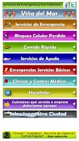 Screenshot of Servicios de Utilidad Chile