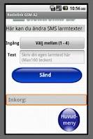 Screenshot of Radiolink GSM-A2