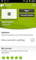 Screenshot of Superuser Update Fixer