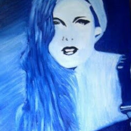 Kristen Stewart avatar by Jessica Anderson - Painting All Painting