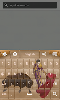 Screenshot of Spain Keyboard