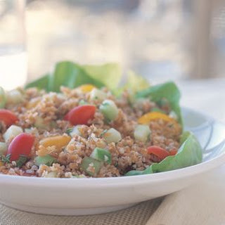 Greek Bulgur Salad