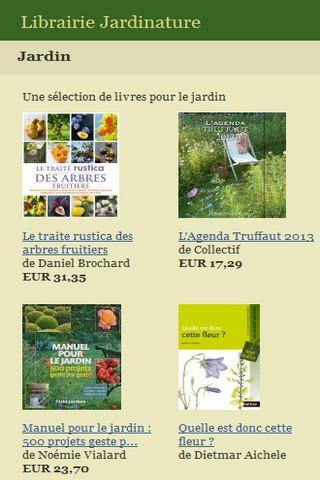 Librairie Jardinature