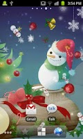 Screenshot of Christmas Live Wallpaper_free