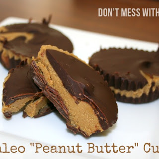 Paleo Peanut Butter Cups with Sunflower Seed Butter