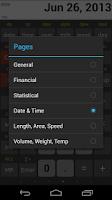 Screenshot of NeoCal Financial Calculator