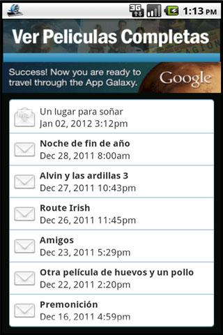 ver-peliculas-completas for android screenshot