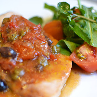 Swordfish Capers Tomatoes Olives Recipes