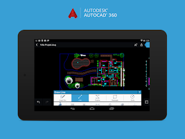 Screenshot of AutoCAD 360