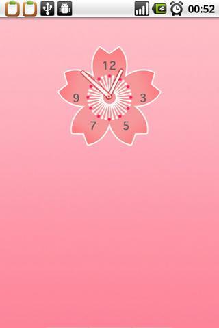 玩個人化App|Sakura Clock Widget免費|APP試玩