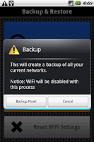 Screenshot of WiFi Pass Recovery & Backup