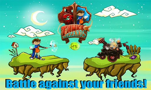 tanks-vs-wizards for android screenshot