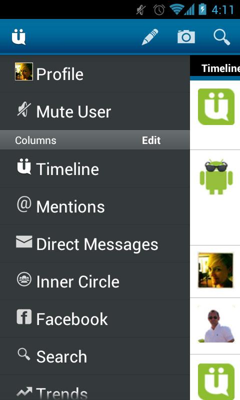 UberSocial PRO for Twitter Screenshot 1