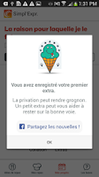 Screenshot of Weight Watchers Simpl'Express