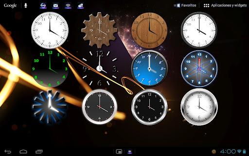 Clock Widgets