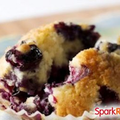 High-Protein, Low-Sugar Blueberry Muffins