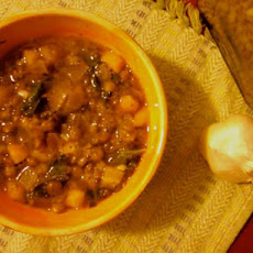 Moroccan Lentil and Kale Stew