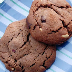 Double Chocolate Chunk Peanut Cookies