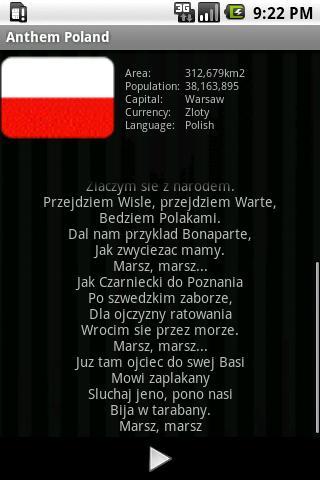 国歌ポーランド