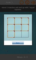 Screenshot of Matches Puzzles Game
