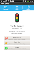 Screenshot of Live Traffic Sydney