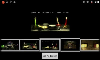 Screenshot of Book of Shadows ADW