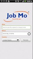 Screenshot of JobMo - Job Search