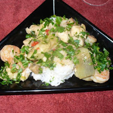 Chicken, Shrimp and Rice